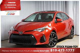 Used 2017 Toyota Corolla SE* SAFETY SENSE* TOIT for sale in Drummondville, QC