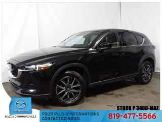 Used 2017 Mazda CX-5 GT|AWD|CUIR|TOITOUV|AUDIOBOSE|CAM|MAG| for sale in Drummondville, QC
