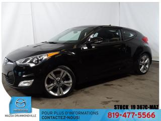 Used 2015 Hyundai Veloster |Tech|GPS|CUIR|TOITPANO|MAG|SIEGCHAUF for sale in Drummondville, QC