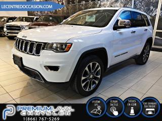 Used 2018 Jeep Grand Cherokee LIMITED 4X4 *CUIR/TOIT/NAV/CAMERA* for sale in Laval, QC