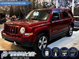 Used 2016 Jeep Patriot HIGH ALTITUDE 4X4*CUIR/TOIT/MAGS* for sale in Laval, QC