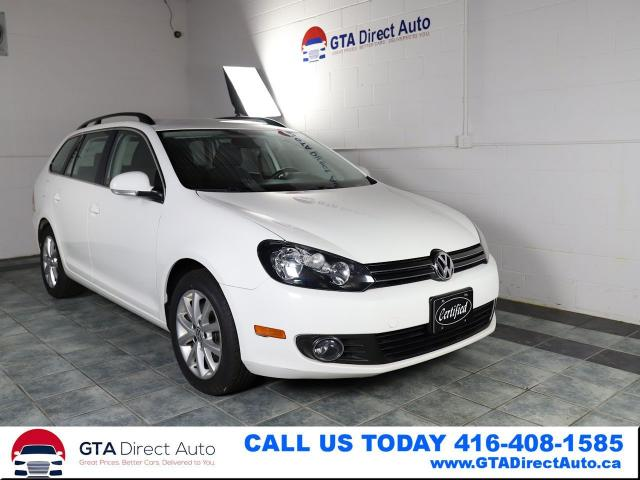 2014 Volkswagen Golf Wagon Comfortline TDI DSG Bluetooth Alloys Certified