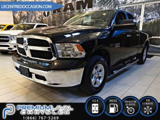 Used 2016 RAM 1500 SLT*DIESEL/QUAD/MAGS/4X4* for sale in Laval, QC