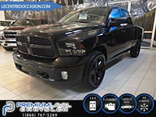 Used 2018 RAM 1500 BIG HORN*BLACKTOP/4X4/CREW/20P* for sale in Laval, QC