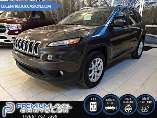 Used 2016 Jeep Cherokee NORTH PLUS*V6/4X4/BANC CHAUFFANT/8.4P* for sale in Laval, QC