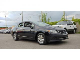 Used 2013 Honda Civic DX for sale in St-Jérôme, QC