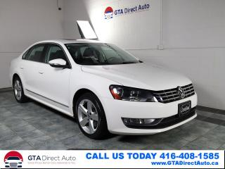 Used 2012 Volkswagen Passat 2.0 TDI DSG Comfortline SUnroof Leather Certified for sale in Toronto, ON