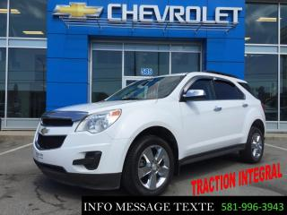 Used 2015 Chevrolet Equinox LT AWD, GROUPE CHROME for sale in Ste-Marie, QC