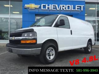 Used 2014 GMC Savana CARGO V8 GROUPE CHROME for sale in Ste-Marie, QC