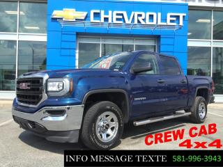 Used 2016 GMC Sierra 1500 4x4 5.3l for sale in Ste-Marie, QC