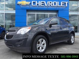 Used 2014 Chevrolet Equinox LT for sale in Ste-Marie, QC