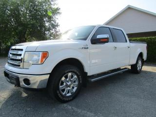 Used 2013 Ford F-150 SuperCrew Lariat 4x4 boite 6.5' for sale in Thetford Mines, QC