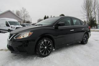 Used 2017 Nissan Sentra Berline 4 portes SV for sale in Thetford Mines, QC