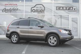 Used 2011 Honda CR-V EX-L AWD ***GARANTIE 10 ANS/200 000 KM** for sale in Québec, QC