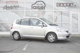Used 2007 Honda Fit DX ***JAMAIS ACCIDENTE*** for sale in Québec, QC