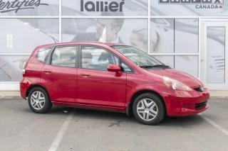 Used 2008 Honda Fit DX ***BAS KILOMETRAGE*** for sale in Québec, QC