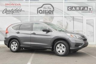 Used 2016 Honda CR-V LX ***GARANTIE 10 ANS/200 000 KM*** for sale in Québec, QC