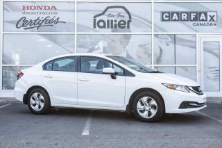 Used 2014 Honda Civic LX ***GARANTIE 10 ANS/200 000 KM for sale in Québec, QC