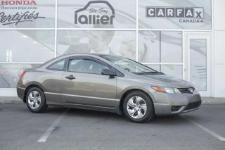 Used 2008 Honda Civic DX-G ***MÉCANIQUE A1*** for sale in Québec, QC