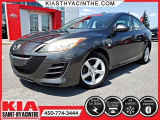 Used 2010 Mazda MAZDA3 GS ** TOIT OUVRANT + MAGS for sale in St-Hyacinthe, QC