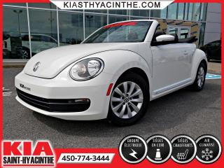 Used 2013 Volkswagen Beetle Convertible Comfortline for sale in St-Hyacinthe, QC