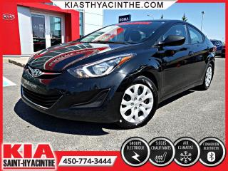 Used 2014 Hyundai Elantra GL ** SIÈGES CHAUFFANTS / BLUETOOTH for sale in St-Hyacinthe, QC
