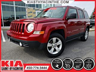 Used 2014 Jeep Patriot North 4X4 ** SIÈGES CHAUFFANTS + A/C for sale in St-Hyacinthe, QC