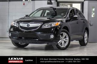 Used 2015 Acura RDX TECHNOLOGY AWD; CUIR TOIT GPS AUDIO NAVIGATION - AUDIO ELS SURROUND 410 WATTS - SIÈGES CHAUFFANT - SIÈGE MÉMOIRE - ATTACHE REMORQUE for sale in Lachine, QC