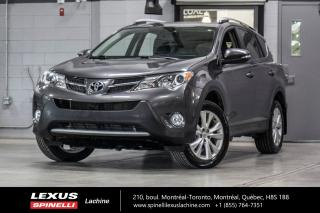 Used 2013 Toyota RAV4 LIMITED AWD; **RESERVE / ON-HOLD** TOIT-OUVRANT - CAMÉRA DE RECUL - ÉCRAN TACTILE 6.1'' - BLUETOOTH - JANTES TOYOTA 18'' for sale in Lachine, QC