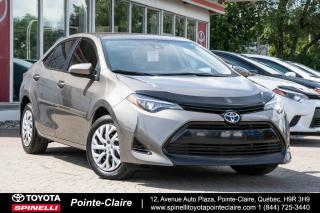 Used 2017 Toyota Corolla Le Pkg for sale in Pointe-Claire, QC