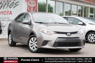 Used 2015 Toyota Corolla LE CAMÉRA DE RECUL, SIÈGES CHAUFFANT for sale in Pointe-Claire, QC