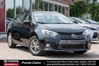 Used 2015 Toyota Corolla LE UPGRADE MAGS, TOIT, SIÈGES CHAUFFANT for sale in Pointe-Claire, QC