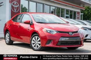 Used 2015 Toyota Corolla LE SIÈGES CHAUFFANT, CAMÉRA DE RECUL for sale in Pointe-Claire, QC