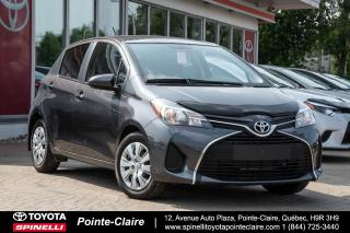 Used 2015 Toyota Yaris ***RESERVE***LE TRÈS BAS KM! for sale in Pointe-Claire, QC