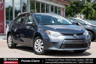 Used 2015 Toyota Corolla **RÉSERVÉ ***LE PKG for sale in Pointe-Claire, QC