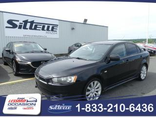 Used 2009 Mitsubishi Lancer GT / MANUELLE / MAGS / JAMAIS ACCIDENTE! for sale in St-Georges, QC