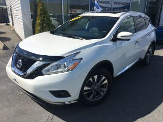 Used 2016 Nissan Murano SL AWD V6 FULL CUIR TOIT GPS MAGS IMPECCABLE for sale in St-Georges, QC