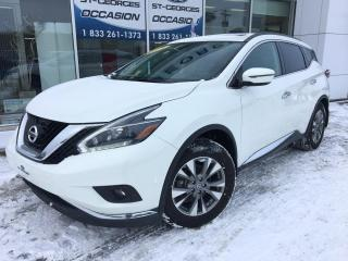 Used 2018 Nissan Murano SV AWD V6 TOIT PANORAMIQUE GPS MAGS CAME for sale in St-Georges, QC