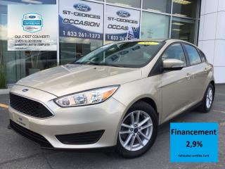 Used 2017 Ford Focus SE CERTIFIÉ FORD TAUX 2.9% 72 MOIS IMPECCABLE for sale in St-Georges, QC