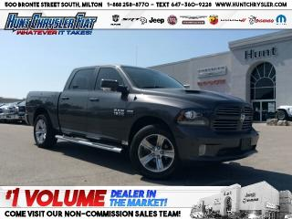 Used 2017 RAM 1500 SPORT | LOADED | LEATHER | SUN | AIR | NAV & MORE! for sale in Milton, ON