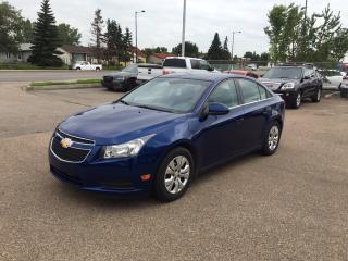 Used 2013 Chevrolet Cruze LT Turbo for sale in Edmonton, AB