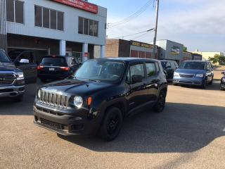 Used 2017 Jeep Renegade Sport for sale in Edmonton, AB