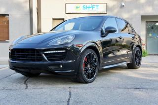 Used 2014 Porsche Cayenne GTS BOSE, SPORT EDITION WHEELS, ACCIDENT FREE for sale in Burlington, ON
