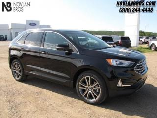 Used 2019 Ford Edge Titanium AWD  - Heated Seats -  Power Tailgate for sale in Paradise Hill, SK
