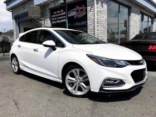 Used 2017 Chevrolet Cruze PREMIER RS HATCHBACK CUIR TOIT MAGS NAVI for sale in Longueuil, QC