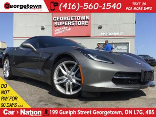 Used 2015 Chevrolet Corvette Stingray Z51| JUST TRADED|CLEAN CARFAX|TINTS|BOSE for sale in Georgetown, ON