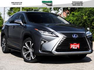 Used 2016 Lexus RX 450h Fully Loaded for sale in North York, ON