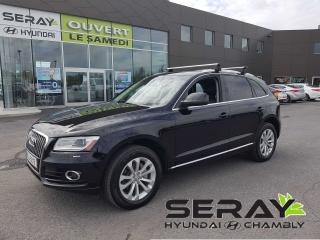 Used 2014 Audi Q5 2.0 Progressiv, mags, cuir, toit pano for sale in Chambly, QC