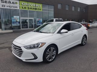 Used 2017 Hyundai Elantra GLS, mags, toit, dual a/c, camera de recul for sale in Chambly, QC