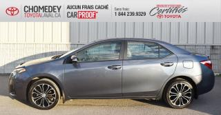 Used 2016 Toyota Corolla S ** EN PARFAITE CONDITION ** for sale in Laval, QC